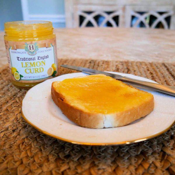 Lemon Curd and Toast