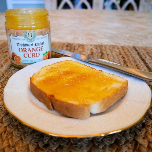 Orange Curd and Toast